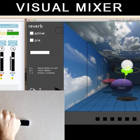 Visual Mixer - Inspired by David Gibson