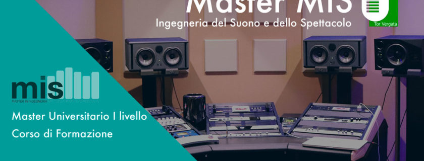 Open day 2018 MIS ingegneria del suono e dello spettacolo