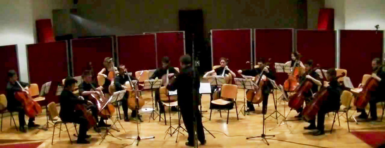 Venti_Violoncelli Santa Cecilia Master MIS ingegneria suono spettacolo