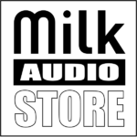 Milk Audio Store Logo Master MIS Ingegneria Suono e Spettacolo
