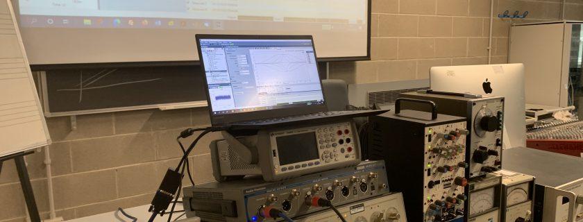 Laboratorio di Misure per l'Audio
